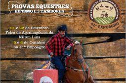 Provas equestres movimentarão Manaus durante a 41ª Expoagro e a Feira de Agronegócios