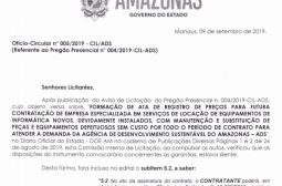 Ofício-Circular nº 005/2019 – CIL/ADS