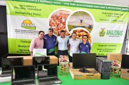 Wilson Lima entrega R$ 5 milhões em equipamentos e veículos para fortalecer ações do setor primário