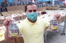 Feirante da ADS doará 100 kits de mel de abelhas para profissionais da saúde