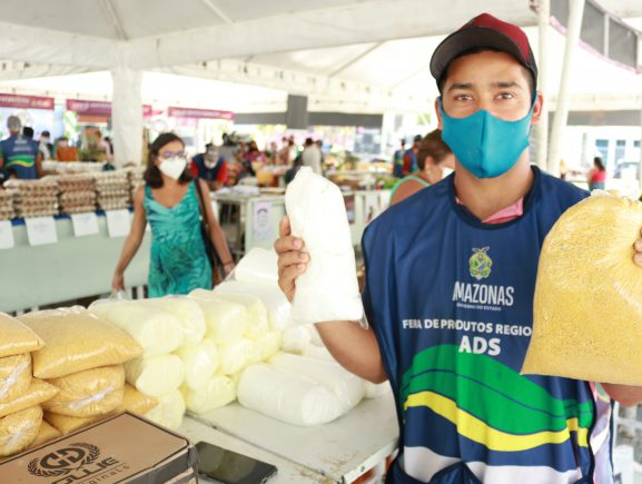 ADS promove edição especial da feira de produtos regionais na Arena da Amazônia