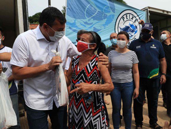 Governo do Amazonas realiza quinta edição do 'Peixe no Prato Solidário'